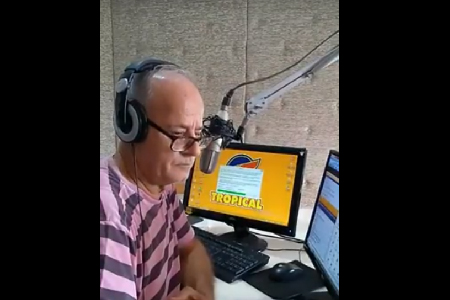 Entrevista a Afonso Francener. Rádio FM